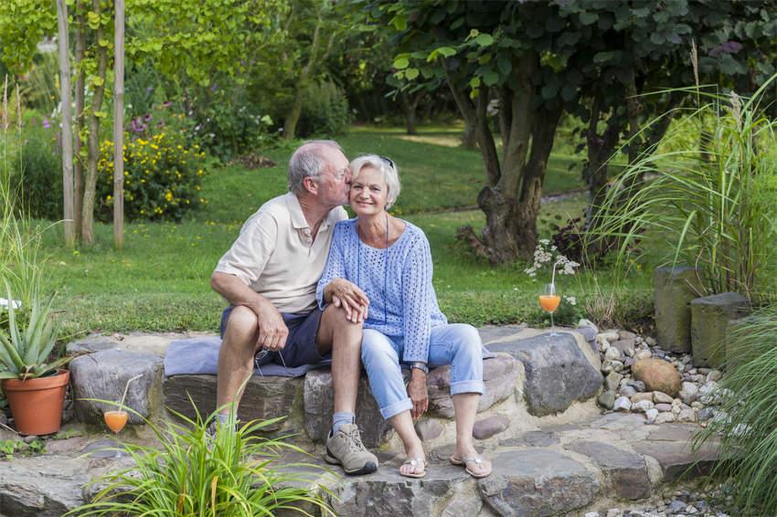 senior couple enjoying retirement